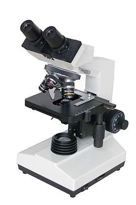 Microscope Binoculaire 45° à éclairage LED, commandes coaxiales