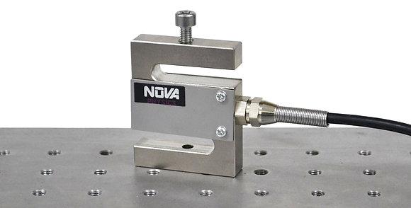 Capteur de force en traction/pression 1000N, à sorties analogiques