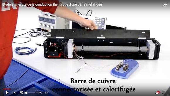 TP Etude de la conduction thermique du cuivre