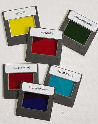 Lot de 6 filtres colorés Paton Hawksley