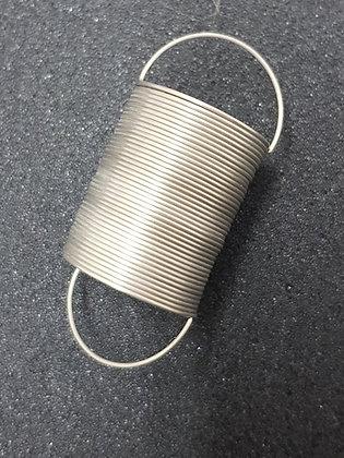 Ressort souple avec anneau de suspension
