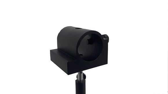 Support de laser cylindrique- sur tige