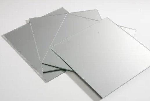 Miroir plan autocollimation 65*50mm