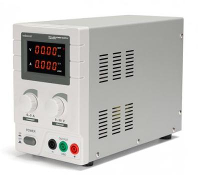 Alimentation à courant continu 0-30V / 0-5A