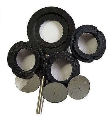 Kit de jetons de diffraction rotatifs sans laser