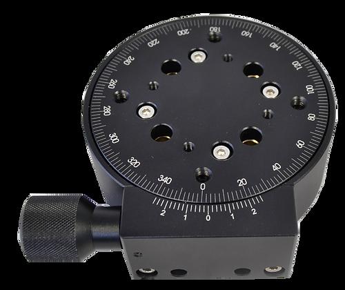 Plateforme rotative graduée de précision, motorisée