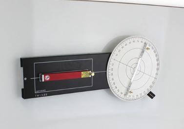 Disque optique avec source laser ligne rouge 650nm