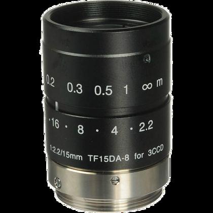 Objectif réglable, filetage C, réglage manuel de zoom focus et iris