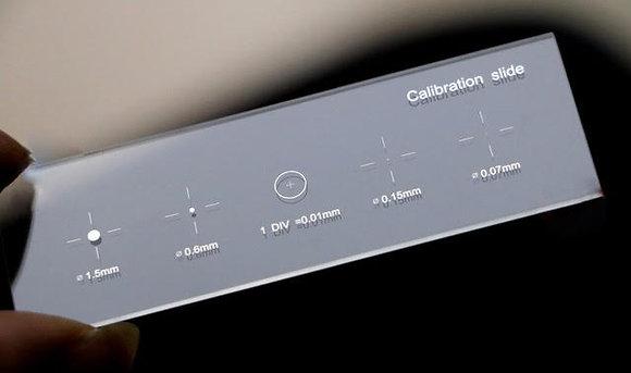 Micromètre objet de calibration 5 en 1