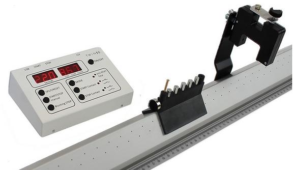 Chronomètre 1/1000ème + paire de capteurs optiques