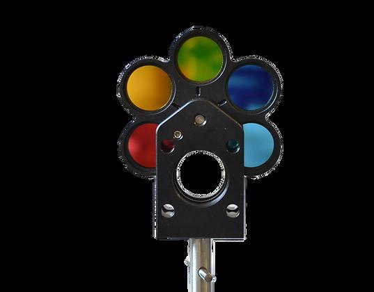 Pack 6 filtres d'étalonnage de capteurs, sur roue à barillet