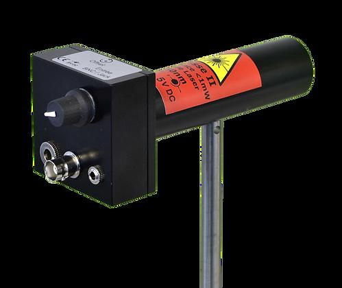 Laser modulable sur tige 1MHz
