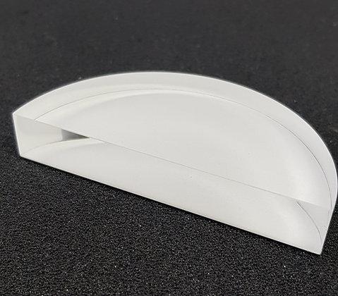 Demi-disque plexiglass seul