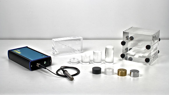 Ensemble Echos et Ultrasons 2MHz avec logiciel et accessoires