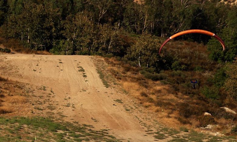 Flight school in south California - Paragliding California