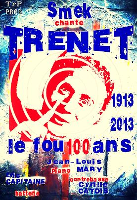 Smek / Frédéric Smektala chante Trenet / affiche