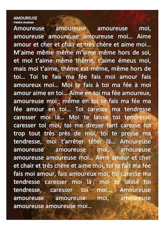 AMOUREUSE - texte
