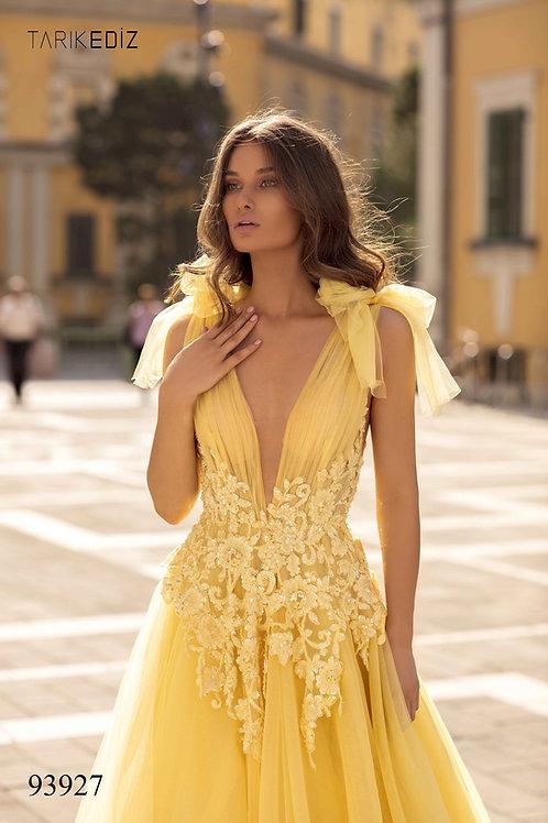 Terik Adiz Lace and Tule Gown