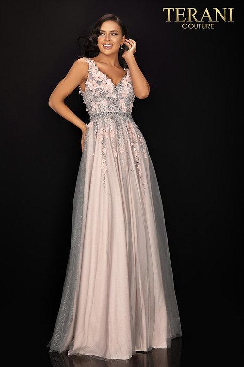 Terani Couture Blush Gown