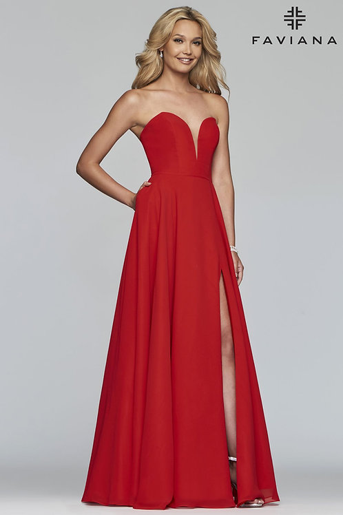 Faviana Strapless Gown