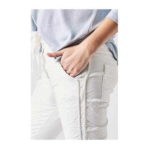 Shinny Thread Pants
