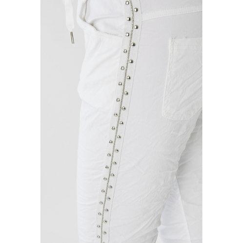 Stud Detailed Pants