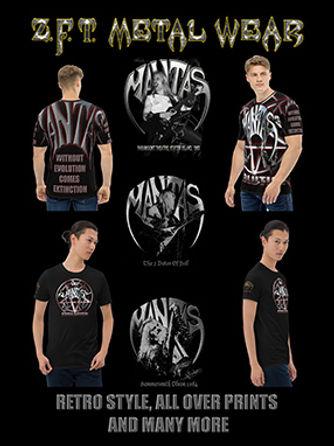 jeff mantas, jeffmantas.com, zft metal wear, t shirts