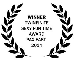 Twinfinite Sexy Fun time Award Pax East 2014