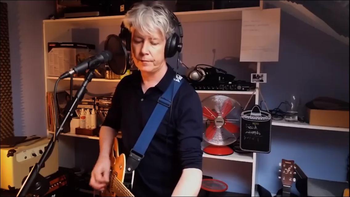 David in the Studio