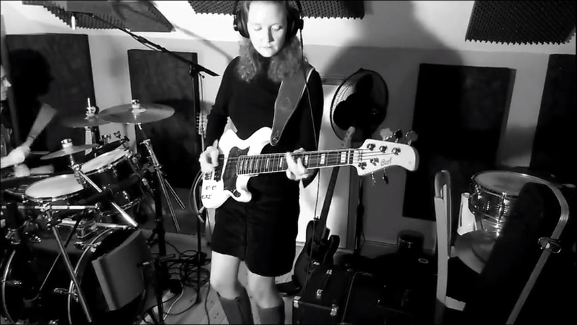 Paula in the Studio