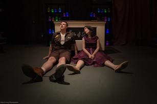 Kurt Robbins and Kayla Friend in Girl of Glass