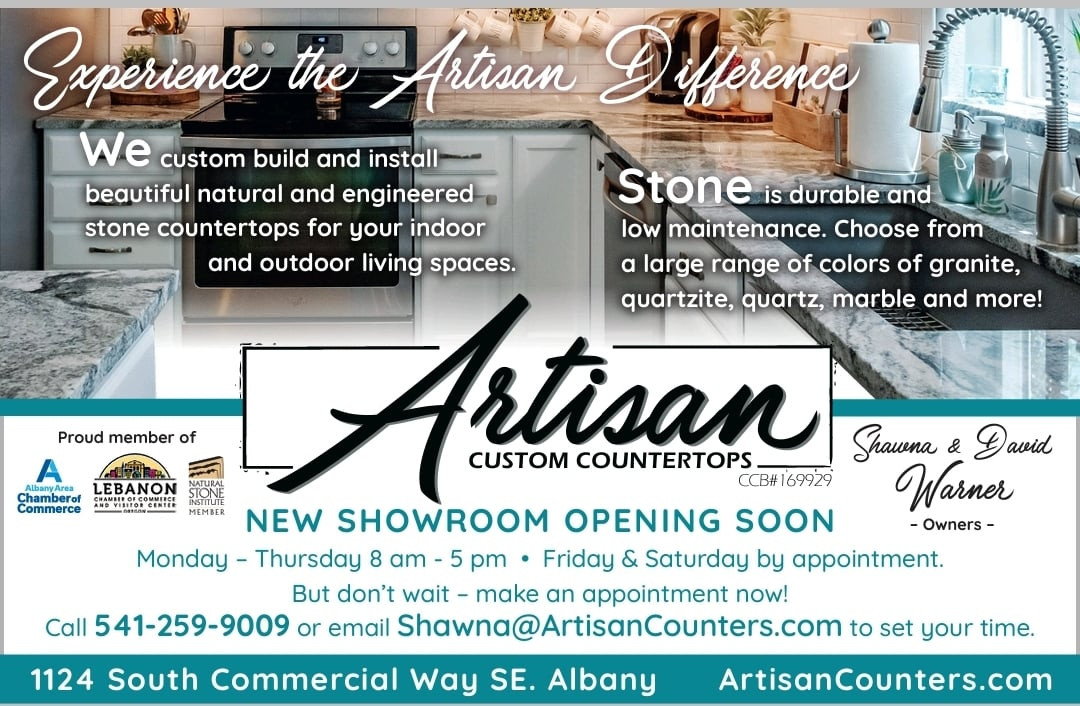 Artisan Showroom Open by Appointment!
