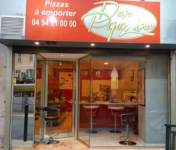 Devanture pizzeria Don papazino