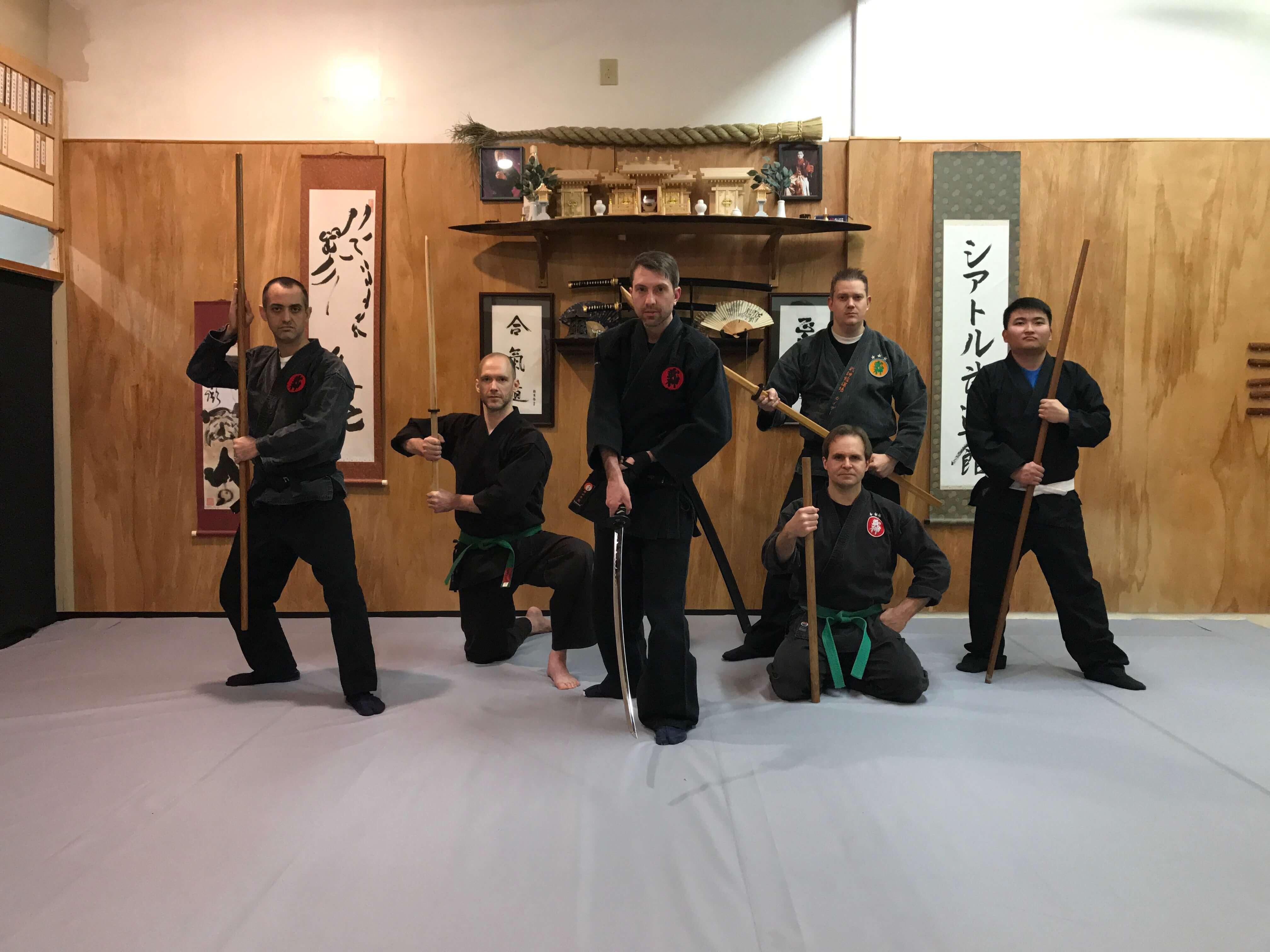 Seattle Budokan  Group 1