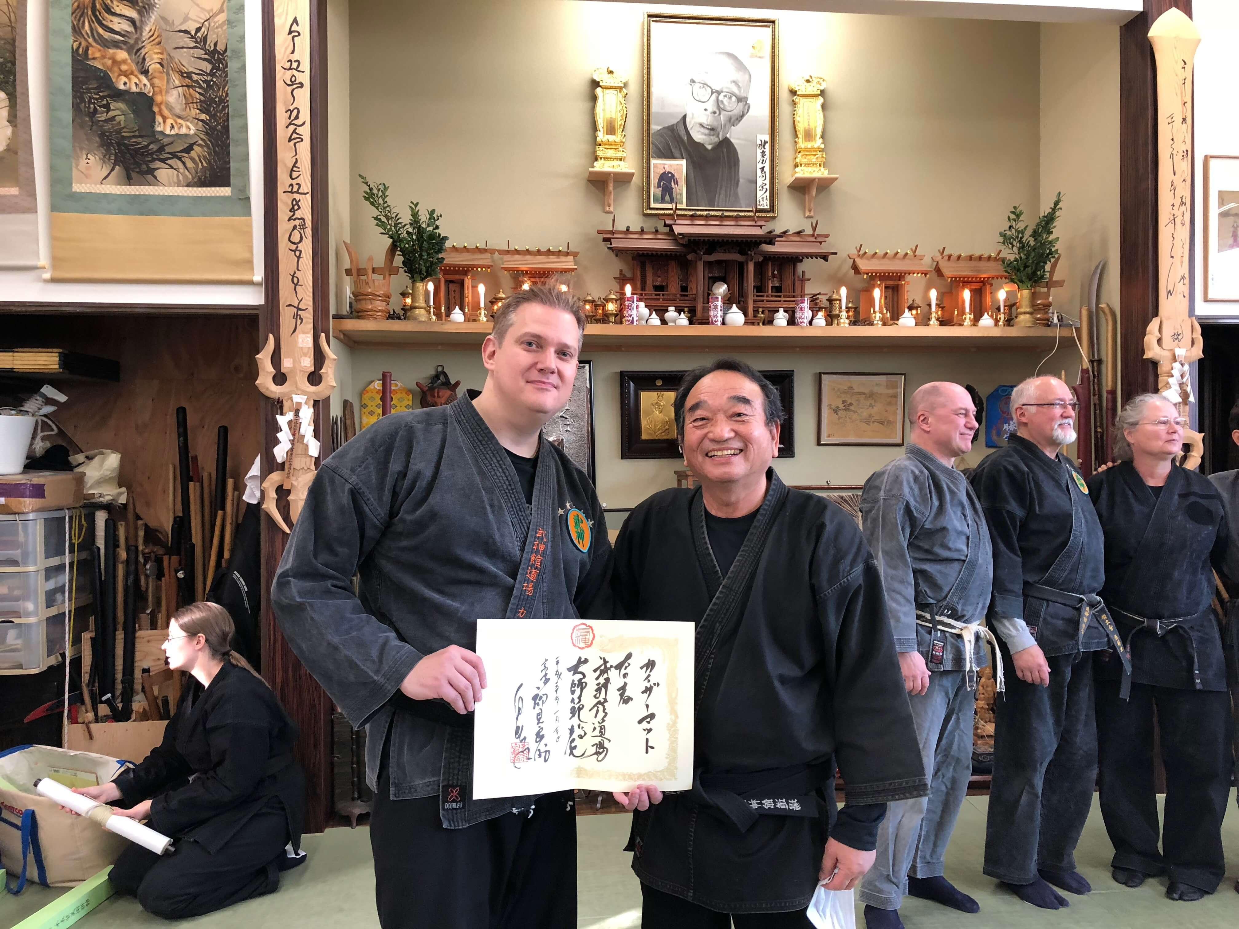 Matt Keiser Award Daishihan