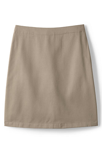Girls Khaki Skirt