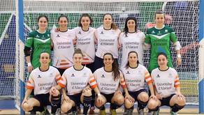 La Universidad de Alicante, plata en los CEUS de fútbol sala femenino y bádminton