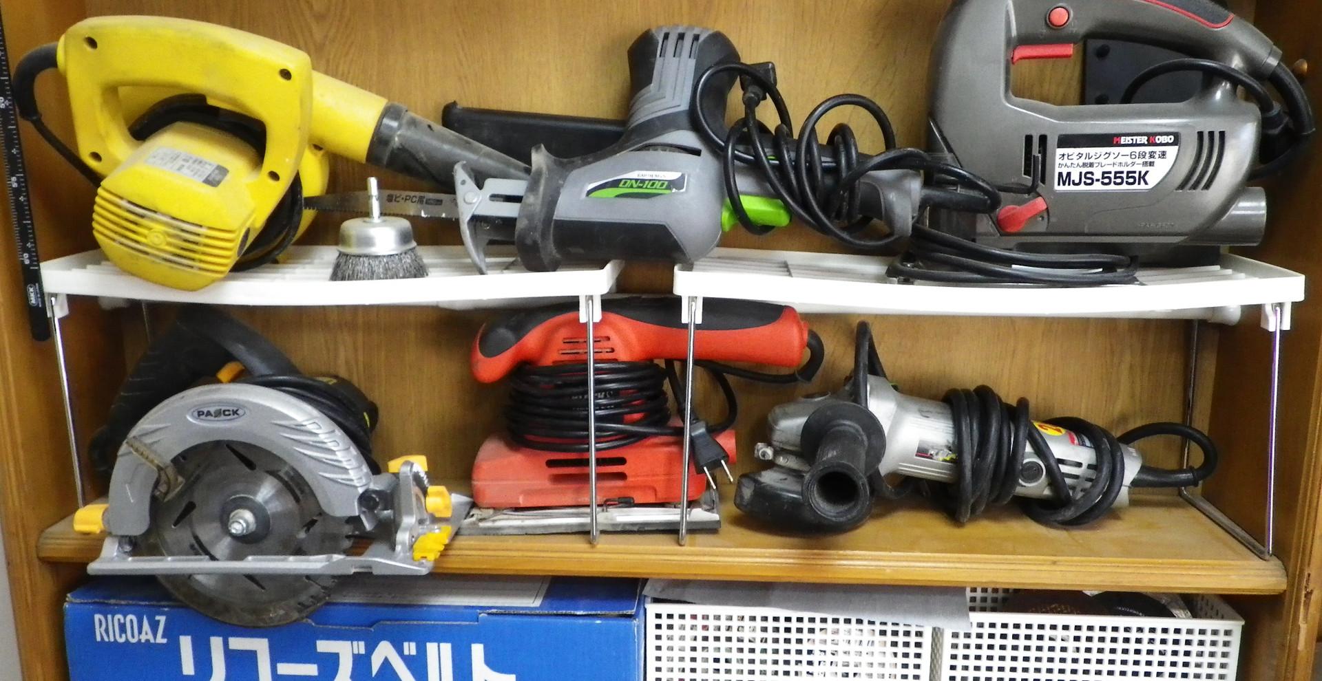 手持ち工具類