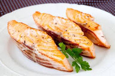Salmão grelhado na manteiga - 320g
