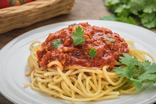 Espaguete a bolonhesa de soja - 300g