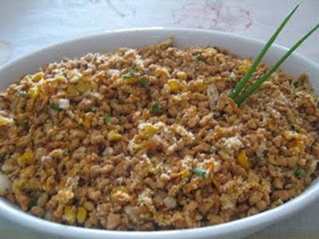 Soja moída com legumes - 250g