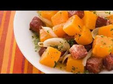 Carne seca com abóbora - 300g