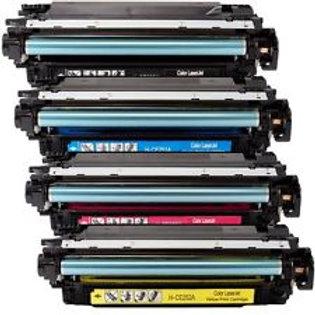 סט טונרים צבעוני HP 3525