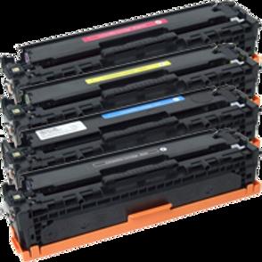 סט טונר צבעוני HP2025