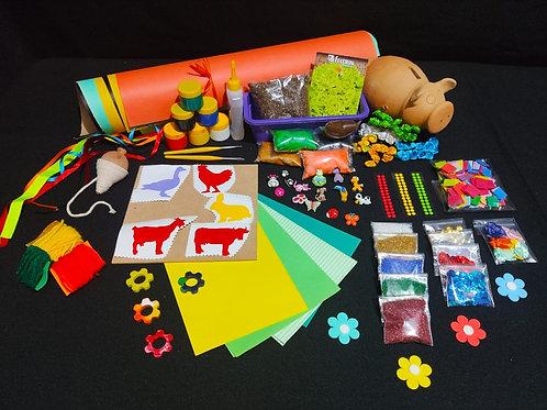 Kit Criativo Fazenda