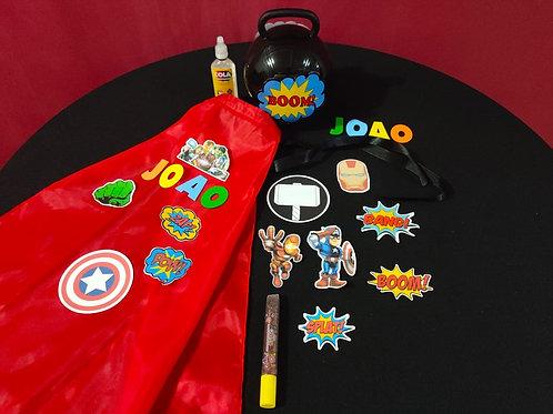 Mini Kit Super Heróis