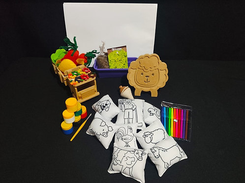 Kit Criativo Fazenda MDF
