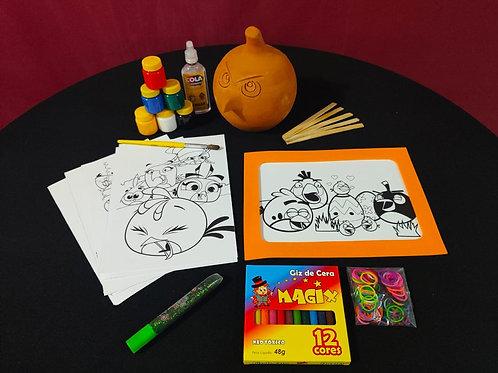Mini Kit Criativo Angry Birds
