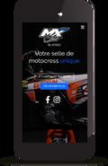projection du site mxseat.fr sur un smartphone