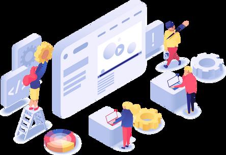 Webmasters qui construisent un logiciel